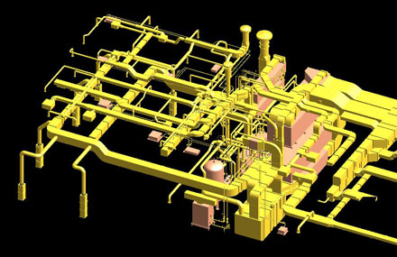 Industrial plants - Detailed engineering - Paper mill routing