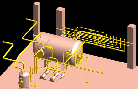 Industrial plants - Detailed engineering - Convicted reform project