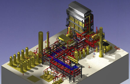 Industrial plants - Detailed engineering - Industrial plant model