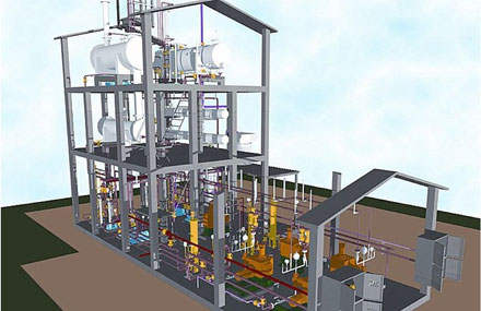 Industrial plants - Detailed engineering - Industrial plant