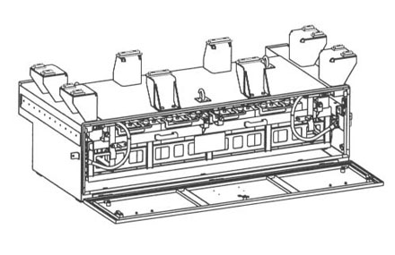 Railway mechanical design - Remodeling skirts
